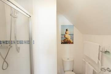Both bedrooms on the first floor benefit from an en suite shower-room