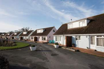 The Tollgate Bungalows are in a small quiet development, perfect for numerous family members wanting to be close to each other