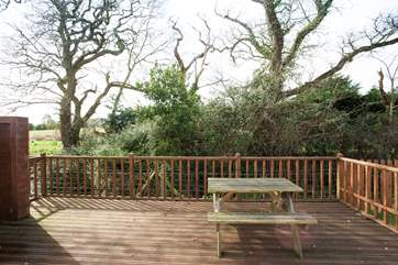 There is decking to both front and rear of the property, capturing the sun what ever time of day