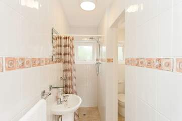 Downstairs has a wet room as well as the master bedroom en suite