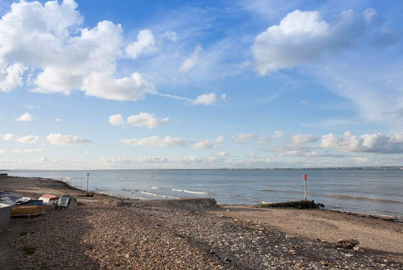 Enjoy beautiful walks along the seafront in both directions