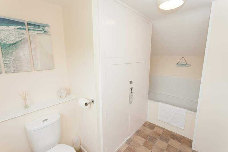 Off the master bedroom is an en suite bathroom, giving you and your family additional space