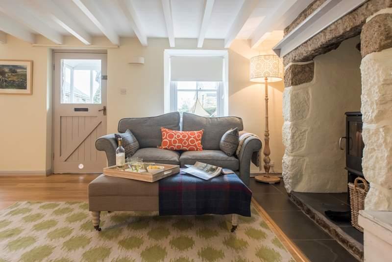Comfortable furnishings.