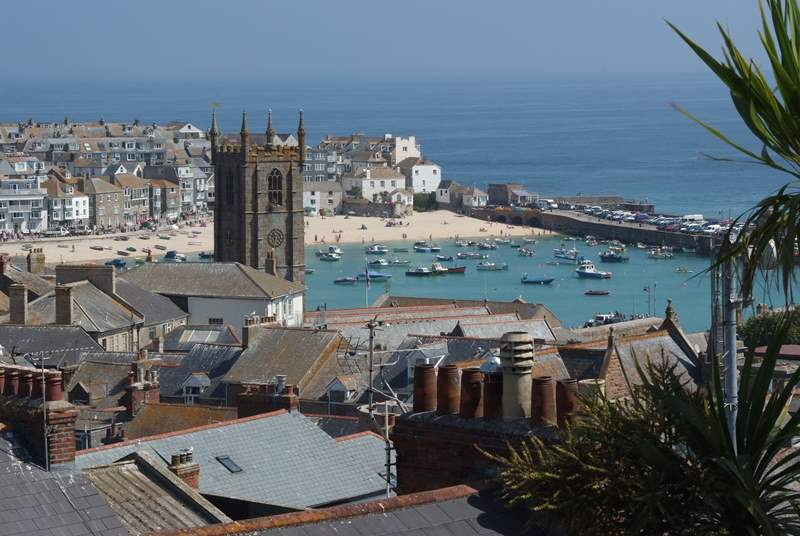 St Ives is just three miles away.