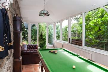 The children will adore the games room. You can access the games room via the hall-way, and also the rear garden.