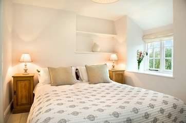 Gorgeous bedroom one.