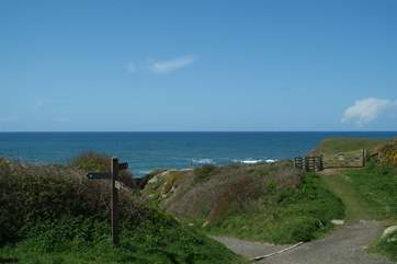 Pop on your walking boots and discover the stunning coastal footpath.