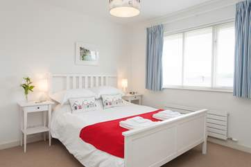 8 hours will be easily achieved with this lovely master bedroom
