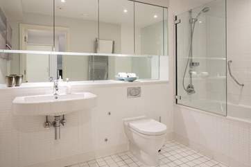 Superb large family bathroom on the ground floor.