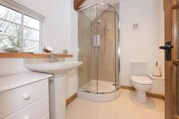The en suite shower-room is on the first floor.