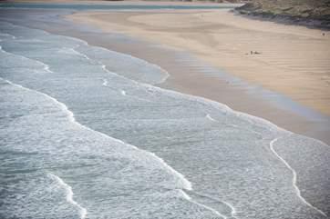 Sun, sea and sand.