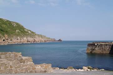 Lamorna Cove, nearby.