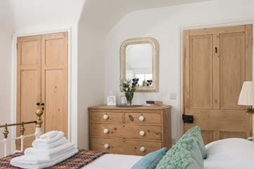 The bedrooms are beautifully furnished.