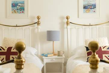 Sit and enjoy a cup of tea in bed with views of the harbour.
