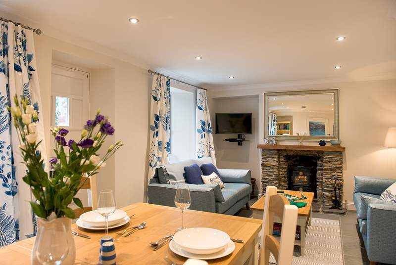 Woodside Cottage is beautifully presented throughout.