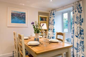 Mealtimes will be a treat in this delightful cottage.