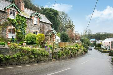 The gateway to the cottage leads directly onto the road (please take care). Parking is available on the opposite side of the road or at the bottom of the road in the public car park (permit provided).