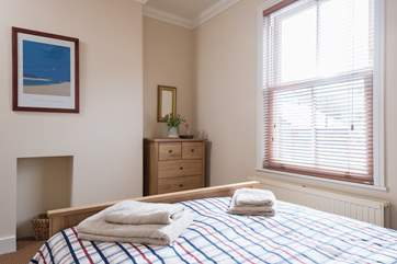 Bedroom 2 has a double bed.
