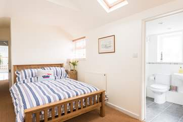 Bedroom 3 is at the rear of the house, a little quieter than the front so perfect for those bringing a baby.