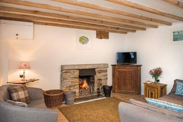 Come back and relax in the cosy sitting-room after a great day out exploring all the delights this part of Cornwall has to offer.