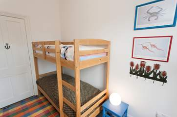 The bunk-beds are only suitable for children.