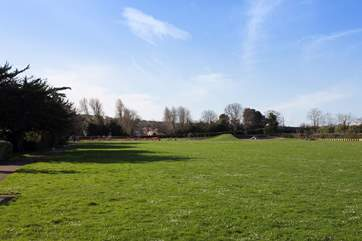 Simeon Recreation Ground is home to a children's park to keep the little ones happy.