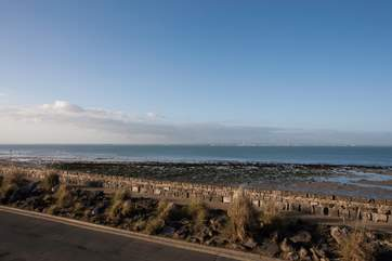 Take a stroll along the seafront to the buzzing town of Ryde