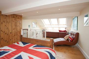 A fantastic size, the master bedroom has plenty of space to relax, read a book or enjoy the the view from the window