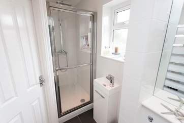There is a shower-room downstairs in addition to the family bathroom on the first floor, giving additional room to avoid morning queues for the bathroom