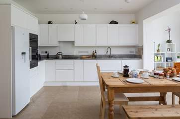 Spacious and well-equipped kitchen. Perfect for catering for those special occasions.