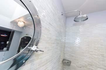 The en suite shower-room on the first floor.