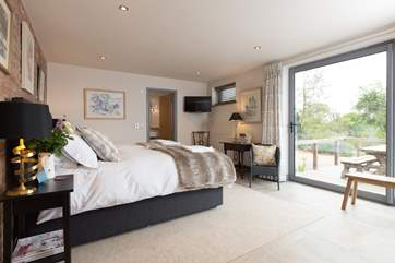 This is the fabulous ground floor ensuite bedroom