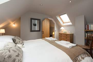 This wonderful bedroom feels so tranquil - the whole point of finding that perfect bolt-hole.