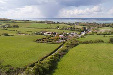The Island has some of the most diverse countryside in the country, why not book Butterfly Cottage and explore it?