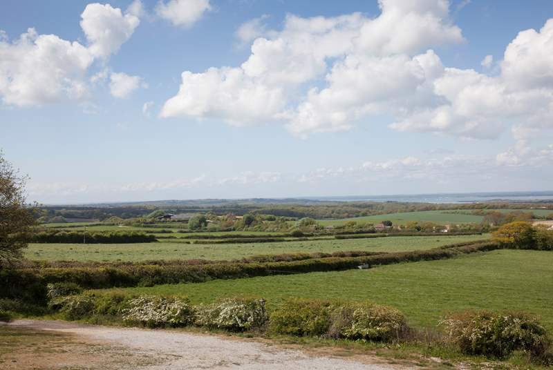 Escape the daily rush and explore the Isle of Wight countryside