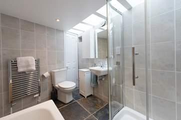 The ground floor bathroom.