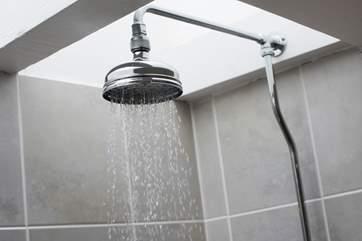 Enjoy a shower.