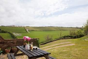 Imagine sitting here enjoying that uninterrupted view...