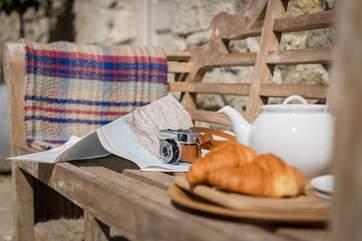 Plan your next adventure over breakfast.