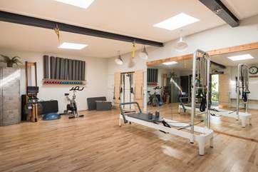 Fancy some personal training or joining a Pilates class in the Owners on site studio? book before you travel at www.kinesisfitness.co.uk