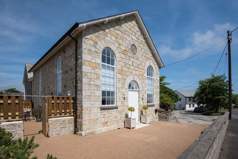 This beautiful chapel has been lovingly converted by skilled restoration builders.