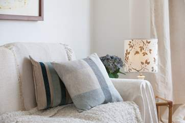Grab a book or put on a film and snuggle up on the comfy sofas