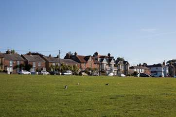 St Helens village green is the second largest in England, beautifully maintained and kept, and home to fayres and events throughout the year