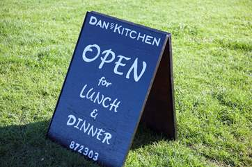 Dan's Kitchen is a small local restaurant in St Helens that use as much local produce as possible, with great reviews it is worth treating your taste buds