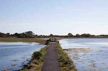 There are some stunning walks just minutes away from Bay View, take a walk along the pathway which goes along the middle of the harbour