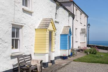 The Copper House sits right on the harbourside of this charming village.