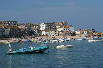 Popular St Ives is only a short drive away.