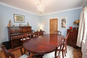 A more formal dining-room for your evening meals.