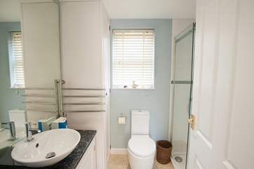 There is a shower-room on the first floor serving the two double bedrooms.