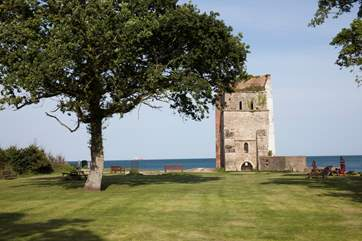 Explore St Helens history and walk down to the old village church before it was destroyed by a wave in the 18th Century.